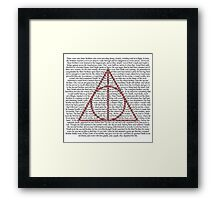 The Tale of the Three Brothers Framed Print