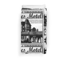 Bates Motel - Black Type Duvet Cover