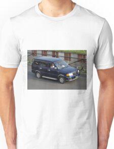 blue colored toyota kijang EFI Unisex T-Shirt