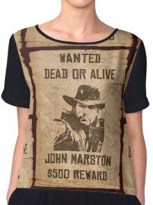 Dead or Alive Chiffon Top