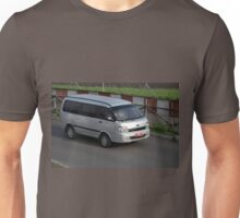silver colored KIA travello Unisex T-Shirt