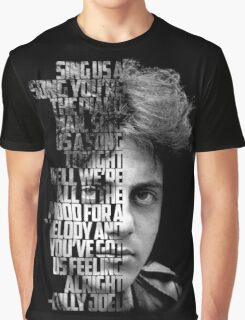 billy joel sing us a song you're esteh Graphic T-Shirt