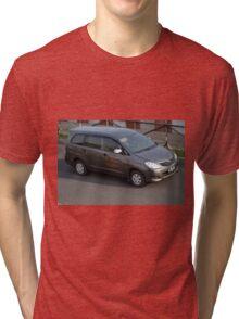 grey colored toyota kijang innova Tri-blend T-Shirt