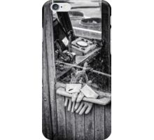 fishing gloves iPhone Case/Skin
