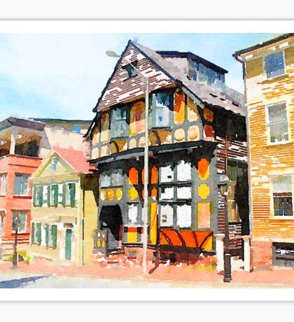 Providence Historic Homes Sticker