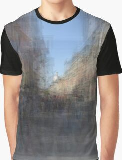 Rue St. Paul E Montreal streetscape Graphic T-Shirt