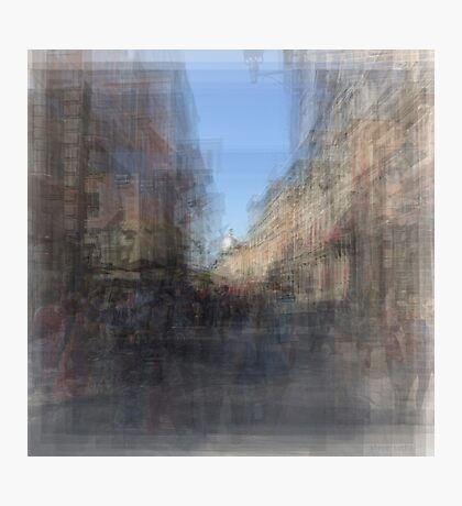 Rue St. Paul E Montreal streetscape Photographic Print