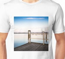 landing stage with balloons Unisex T-Shirt