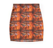 Orange Sunshine Mini Skirt
