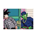 Goku and Piccolo Friday by RiaFlk