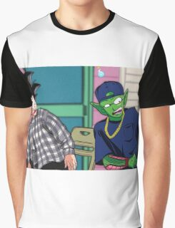 Goku and Piccolo Friday Graphic T-Shirt