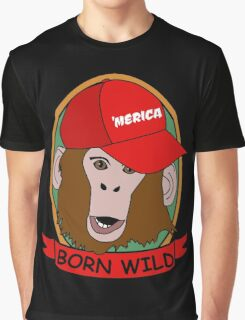 Born WIld Graphic T-Shirt