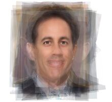 Jerry Seinfeld Portrait Photographic Print