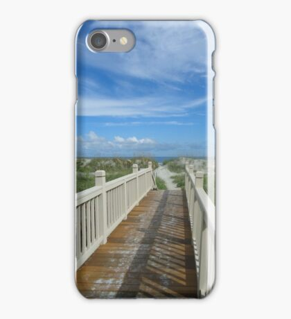 Hilton Head beach, Palmetto Dunes iPhone Case/Skin
