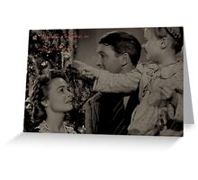 Every time a bell rings, an angel gets his wings. Greeting Card