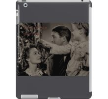 Every time a bell rings, an angel gets his wings. iPad Case/Skin