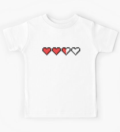 Two and a Half Hearts Remaining Kids Tee