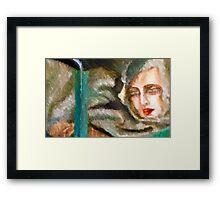 When Tamara Left Vincent Framed Print