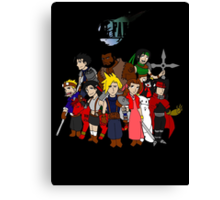 FF7 Characters Canvas Print