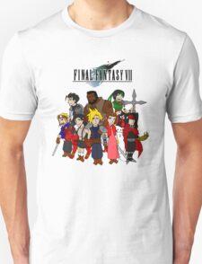 FF7 Characters Unisex T-Shirt