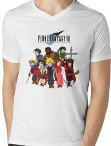 FF7 Characters Mens V-Neck T-Shirt