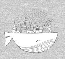 Skywhale Island Baby Tee