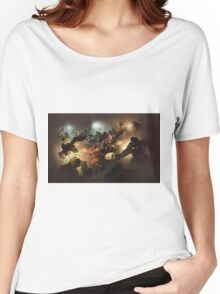 Team Fortress 2 MVM Concept Art Poster Women's Relaxed Fit T-Shirt