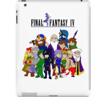 Final Fantasy 4 Characters iPad Case/Skin