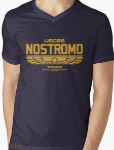 Nostromo Property of Alien Mens V-Neck T-Shirt