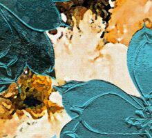 Magnolia  Blue Sticker