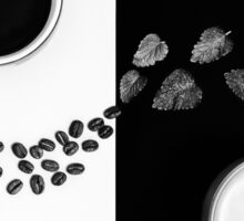 Coffee & Tea Sticker