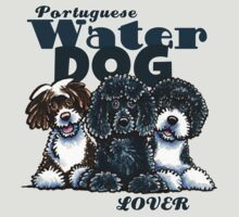 Portuguese Water Dog Lover by offleashart