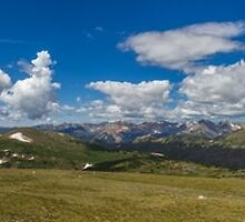 Rocky Mountain National Park Pano #2 by Paul Danger Kile