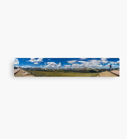 Rocky Mountain National Park Pano #2 Canvas Print