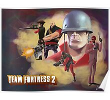 Team Fortress 2 Paint Poster Poster