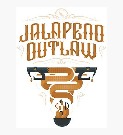 Jalapeno Outlaw SNAKE Photographic Print