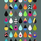 Colorful Rain by Elisabeth Fredriksson