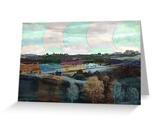 All About Italy. Tuscany Landscape 4 Greeting Card