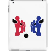 Foosball team iPad Case/Skin