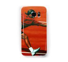 Roger Federer at Roland Garros painting Samsung Galaxy Case/Skin