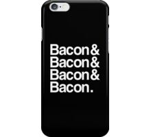 Bacon And Dark iPhone Case/Skin