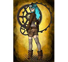 Steampunk Pinup Photographic Print