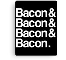 Bacon And Dark Canvas Print