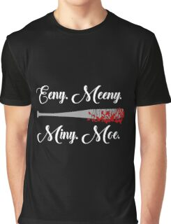 The Walking Dead - Lucille Eeny Meeny Graphic T-Shirt