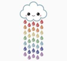 Cute Rain Cloud by sugarhai