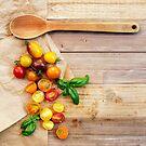 Tomato Still Life 2 by Rebecca Cozart