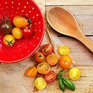 Tomato Still Life 3 by Rebecca Cozart