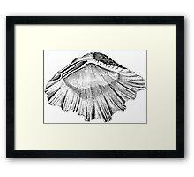 Tidal Side Down  Framed Print