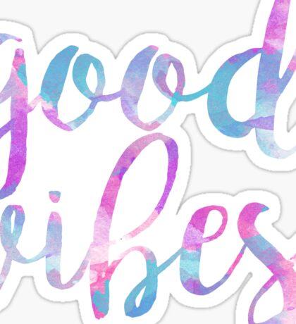 good vibes free spirit trendy laptop sticker Sticker