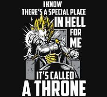 Super Saiyan Vegeta God Throne Shirt Unisex T-Shirt